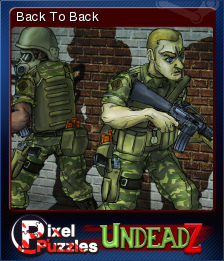 Pixel Puzzles UndeadZ Card 12