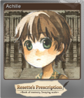 Resette's Prescription ~Book of memory, Swaying scale~ Foil 04
