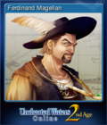 Uncharted Waters Online 2nd Age Card 3