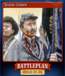 Battleplan American Civil War Card 4