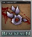 Blackfaun Foil 8