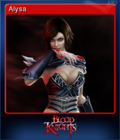 Blood Knights Card 1
