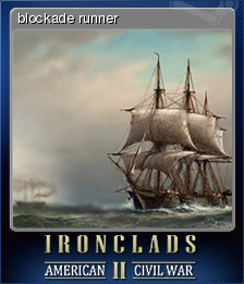 Ironclads 2 American Civil War Card 5