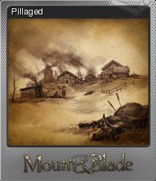 Mount & Blade Foil 1