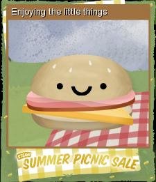 Summer Picnic Sale Foil 06
