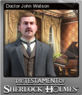 The Testament of Sherlock Holmes Foil 2