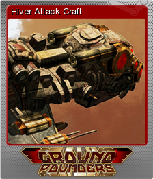Ground Pounders Card 07 Foil