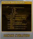 Hacker Evolution Foil 5