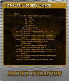 Hacker Evolution Foil 5
