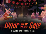 Lunar New Year Sale 2019