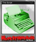 Movie Studio Boss The Sequel Foil 6