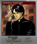 Shadows on the Vatican Act I Greed Foil 4