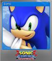 Sonic & All-Stars Racing Transformed Foil 1