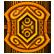 The Treasures of Montezuma 4 Emoticon orange gem