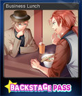 Backstage Pass Card 11