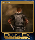 Deus Ex The Fall Card 1