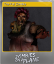 Zombies on a Plane Foil 2