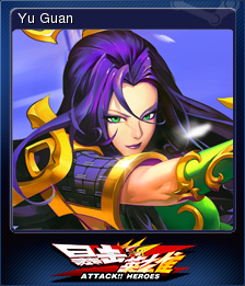 Attack Heroes Card 1