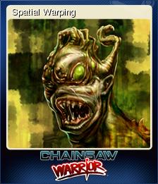 Chainsaw Warrior Card 6