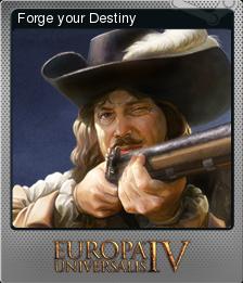 Europa Universalis IV Foil Forge your Destiny
