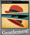 Gentlemen Foil 1