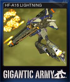 Gigantic Army Card 5