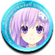 Hyperdimension Neptunia ReBirth2 Sisters Generation Badge Foil