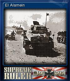 Supreme Ruler 1936 Card 5