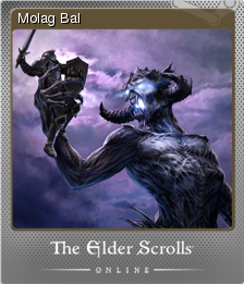 The Elder Scrolls Online - Molag Bal | Steam Trading Cards
