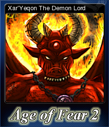 Age of Fear 2 The Chaos Lord Card 6