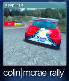 Colin McRae Rally Card 7