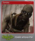 Ravaged Zombie Apocalypse Foil 7