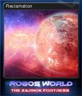 Robo's World The Zarnok Fortress Card 6