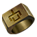 Whispering Willows Emoticon Ring