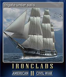Ironclads 2 American Civil War Card 1