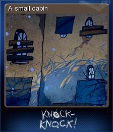 Knock-knock Card 1