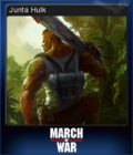 March of War Card 12