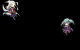 99 Spirits Background Chibi Gijin & Rouran