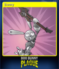 Boo Bunny Plague Card 1