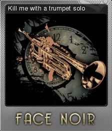 Face Noir Foil 8