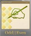 Odd Even Foil 3