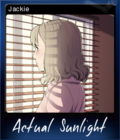 Actual Sunlight Card 6
