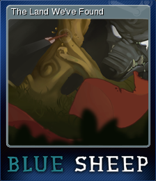 Blue Sheep Card 1
