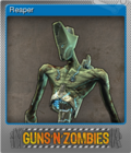 Guns n Zombies Foil 4
