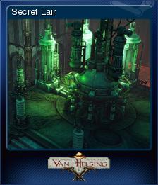 The Incredible Adventures of Van Helsing Card 2