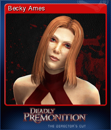 Deadly Premonition Directors Cut Card 5
