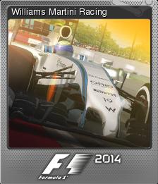 F1 2014 Foil 11 old