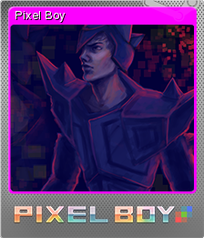 Pixel Boy Card 05 Foil