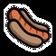 Randals Monday Emoticon Hotdog