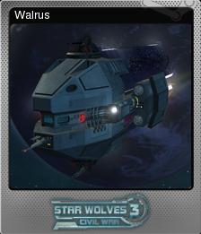 Star Wolves 3 Civil War Foil 10